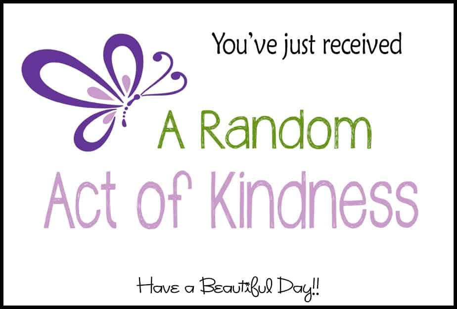 Random Act of Kindness logo frame