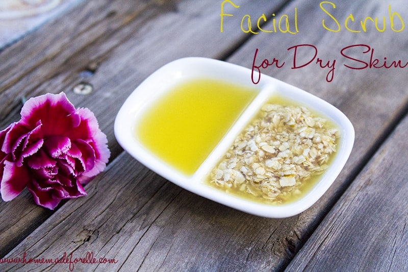 Homemade facial scrubs for dry skin