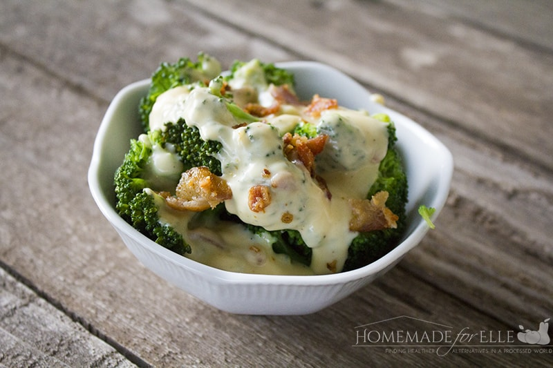 Cheese Sauce for Broccoli