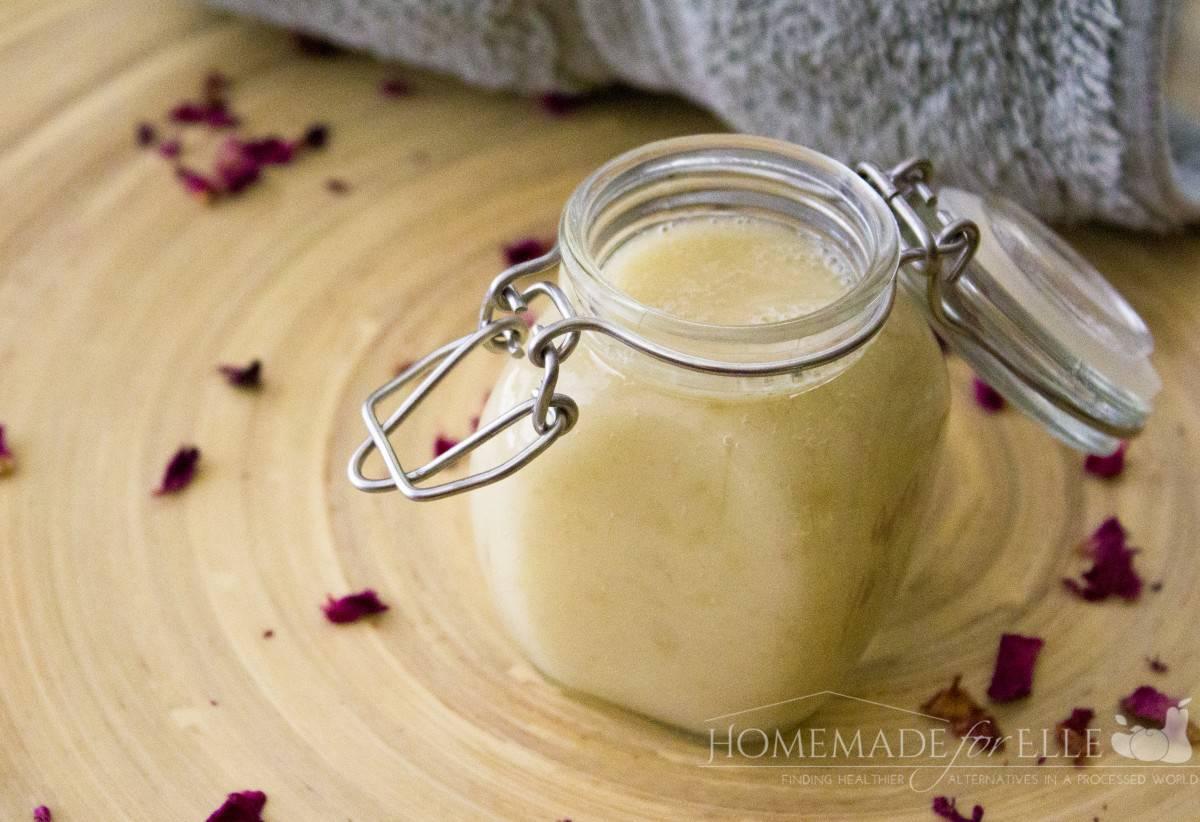 Shea Butter Body Wash ⋆ Homemade for Elle
