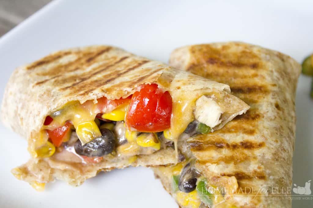 southwest taco wrap