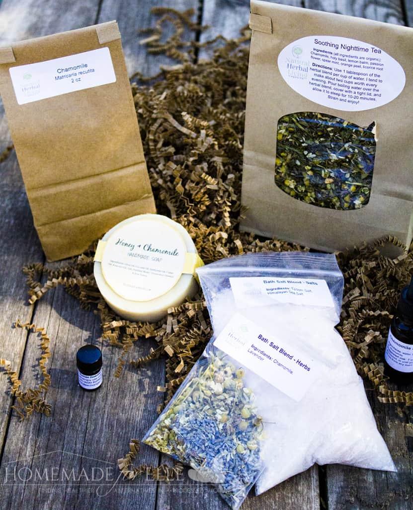 Natural Herbal Living Chamomile