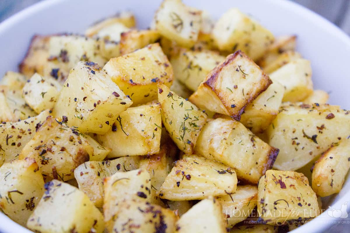 Roasted Lemon Pepper Potatoes