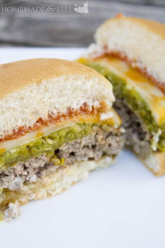 chile rellano burger