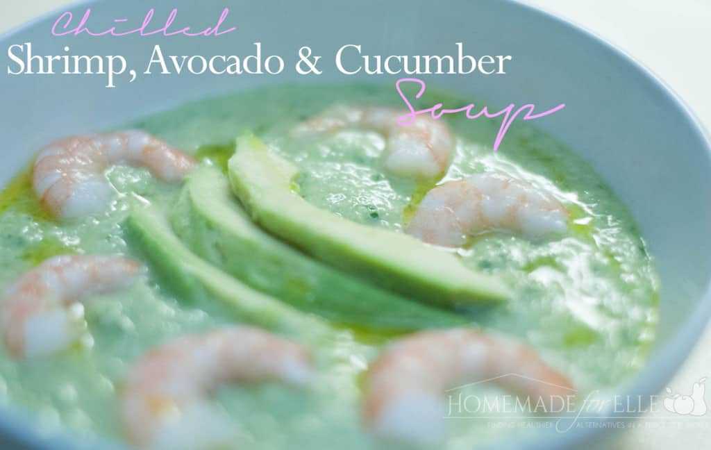 Shrimp Soup - Clean Eating Soups | Homemadeforelle.com