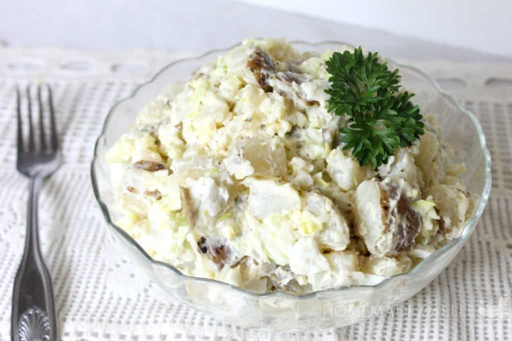 Homemade Potato Salad | Homemade for Elle | https://homemadeforelle.com
