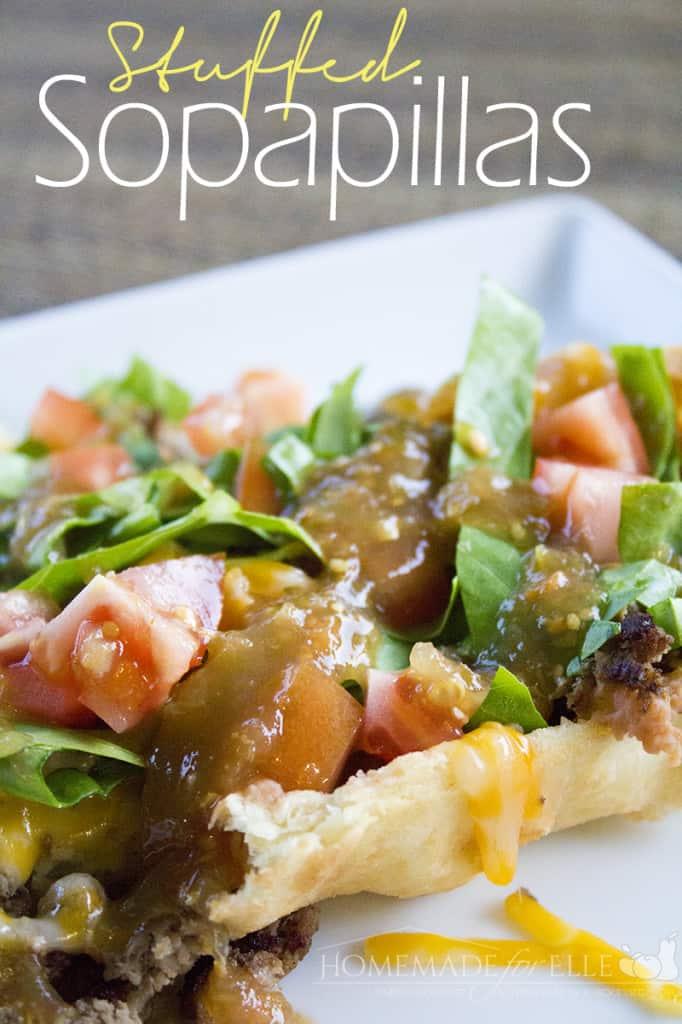 Stuffed Sopapillas ⋆ Homemade for Elle