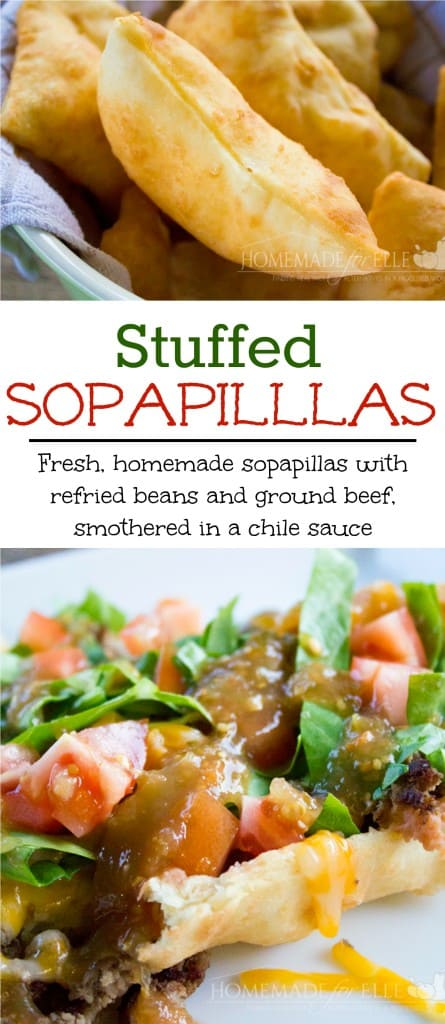 stuffed sopapillas