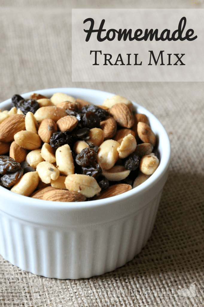Make Your Own Trail Mix | Homemade for Elle