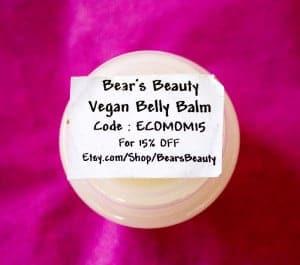bear's beauty vegan belly balm