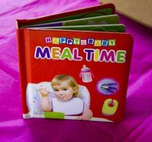 happy baby meal tiem