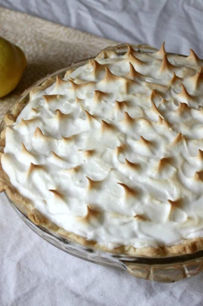 Easy Lemon Meringue Pie | Homemade for Elle | http://homemadeforelle.com