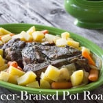 beer braised pot roast text
