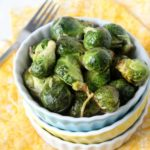 Roasted Parmesan Brussel Sprouts | Natural Chow | http://naturalchow.com