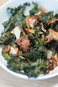 Sweet and Savory Kale Snack Mix (AIP, Paleo)