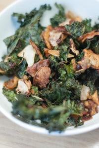 Sweet and Savory Kale Snack Mix (AIP, Paleo)