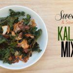 Sweet and savory kale mix