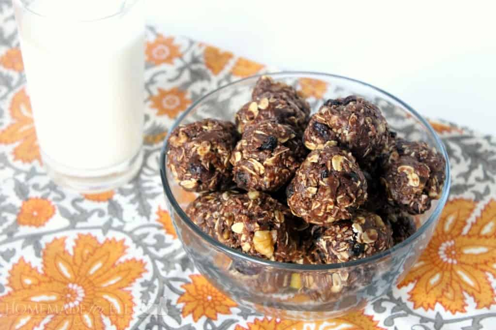 Cranberry Pecan Energy Bites | Homemade for Elle