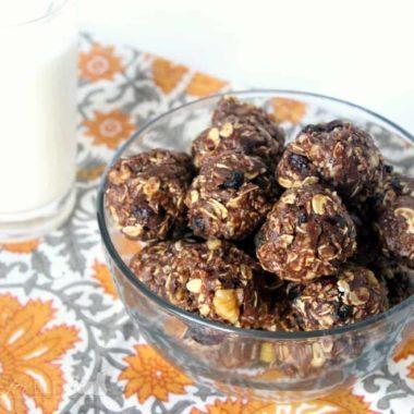 Cranberry Pecan Energy Bites | Homemade for Elle