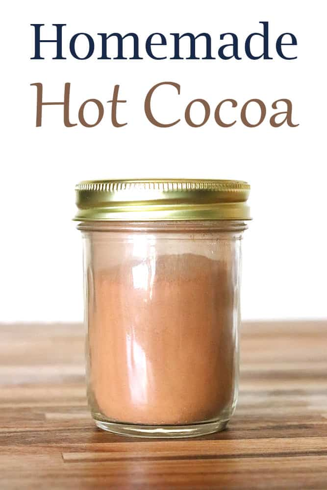 Homemade Hot Cocoa from Scratch