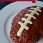 Football Shaped Meatloaf