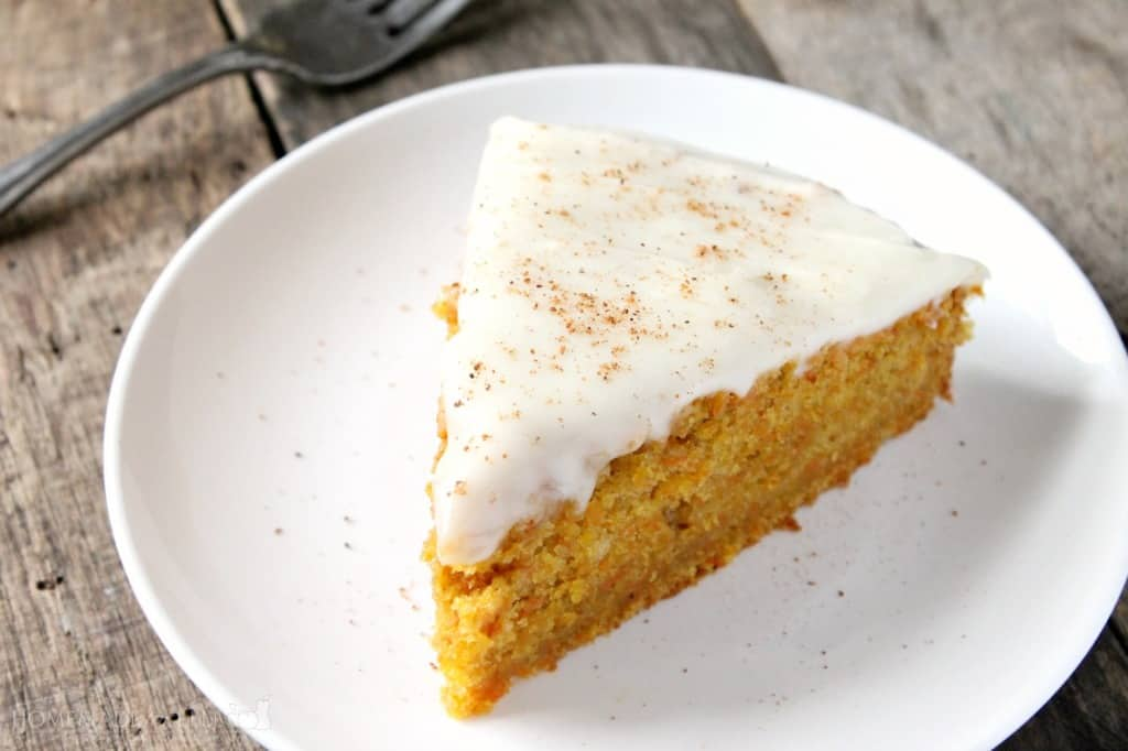 Carrot Cake with Cream Cheese Frosting | Homemade for Elle | https://homemadeforelle.com