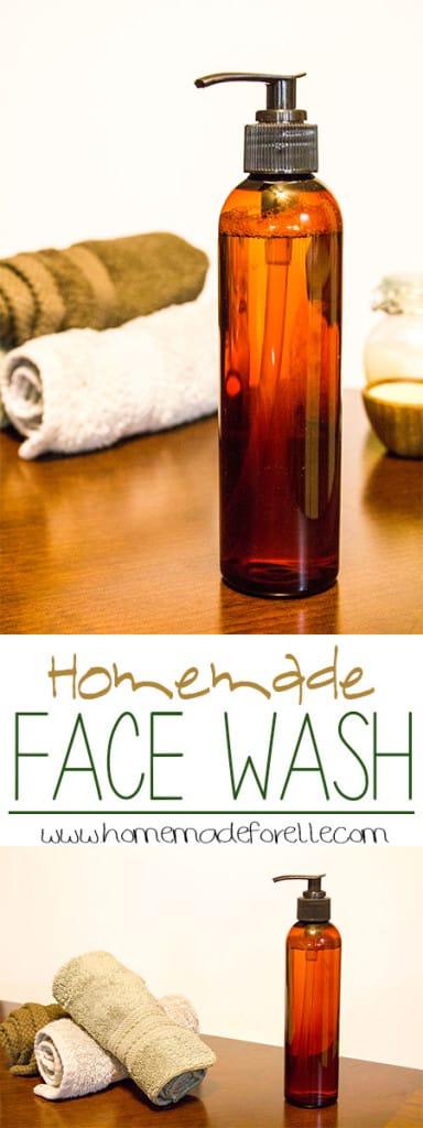 homemade face wash homemadeforelle