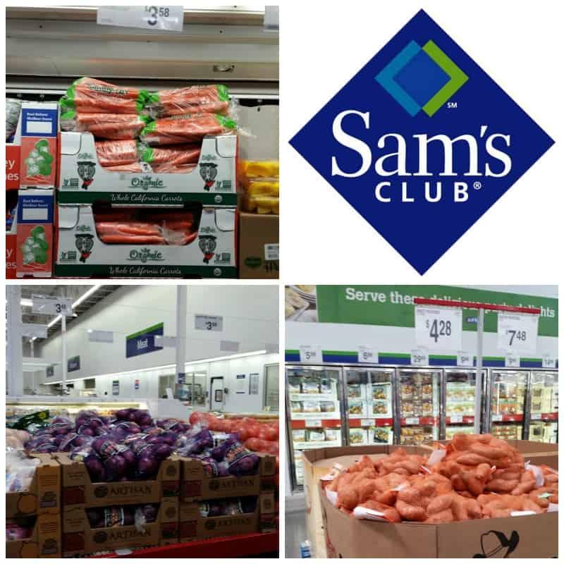 sams club shopping