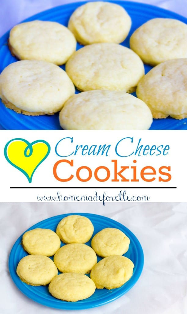 Cream Cheese Cookies from Homemade for Elle