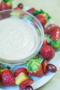 Dairy Free Fruit Dip (AIP, Paleo)