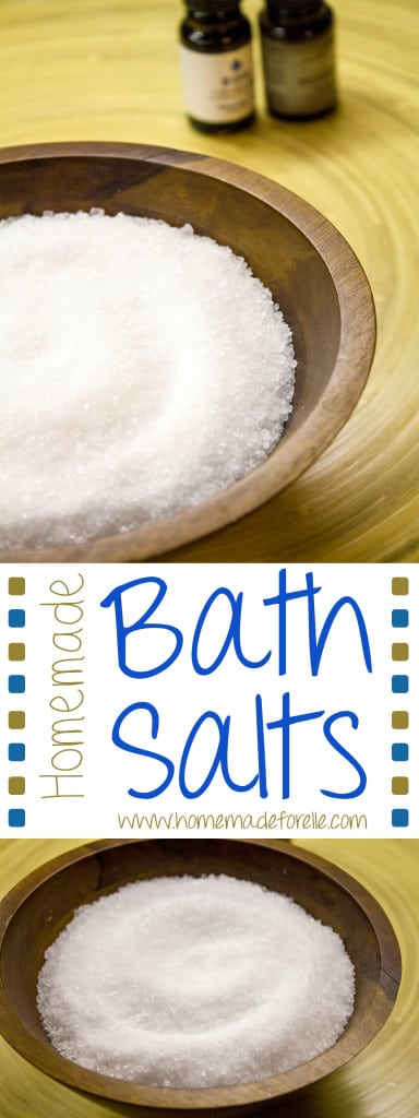 homemade bath salts pinterest