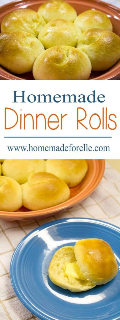 homemade dinner rolls from homemadeforelle