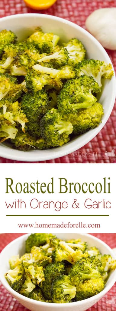 roasted broccoli with orange