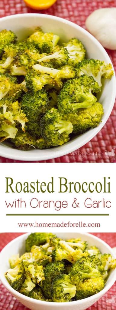 roasted broccoli with orange