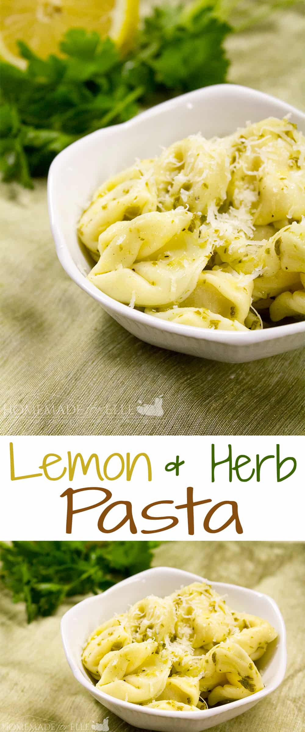 Lemon and herb pasta