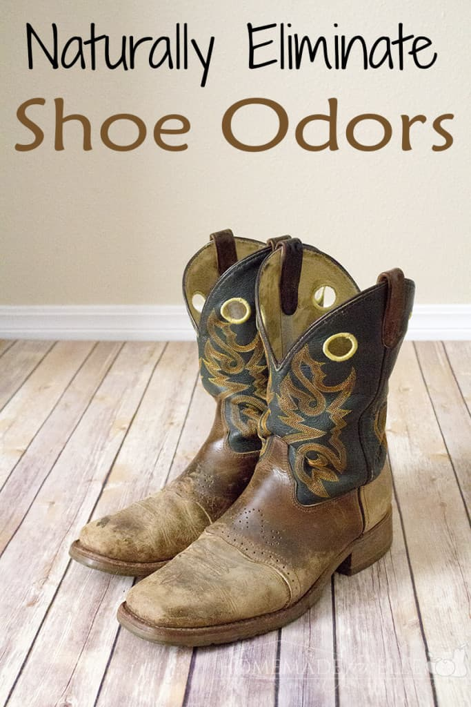 naturally eliminate shoe odors