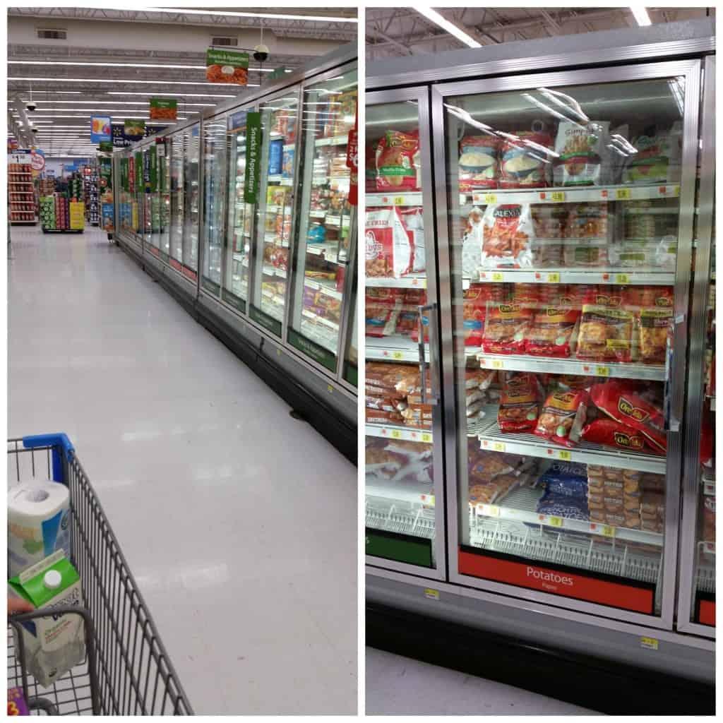 walmart frozen section