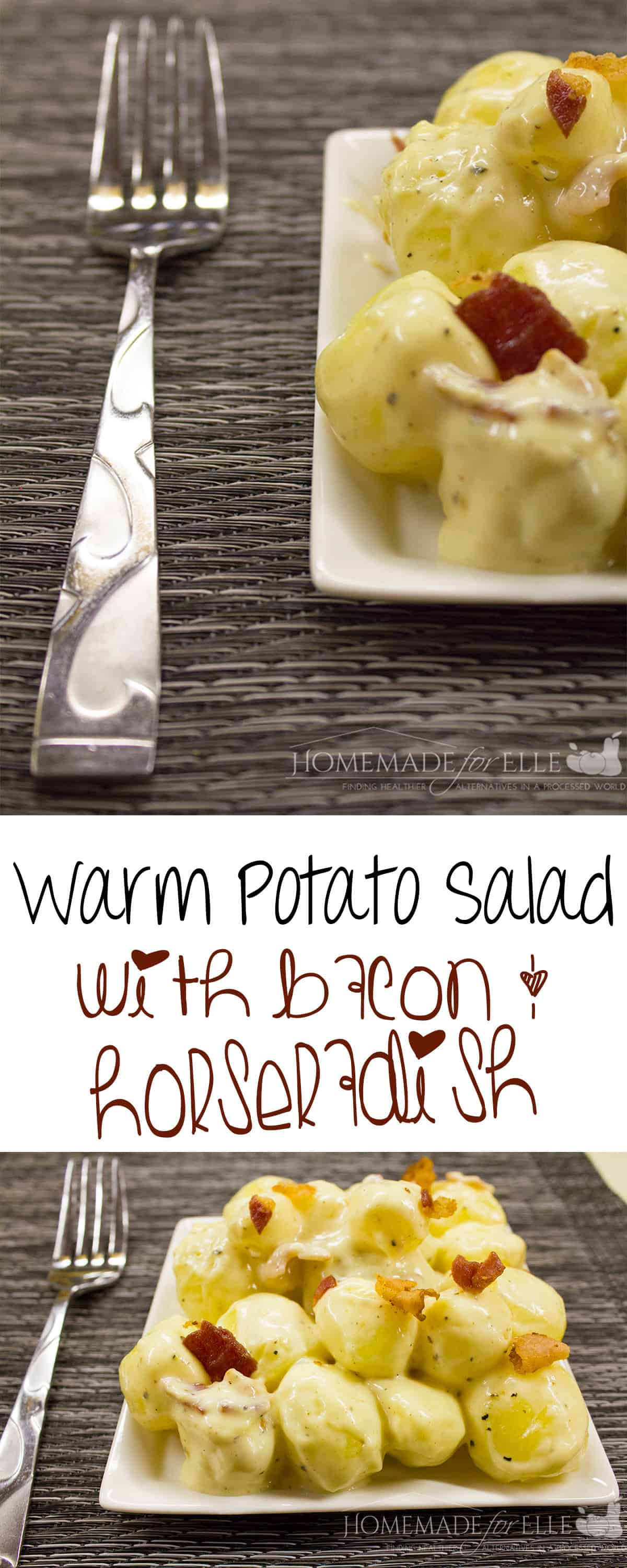 warm potato salad - Homemade for Elle - Copy