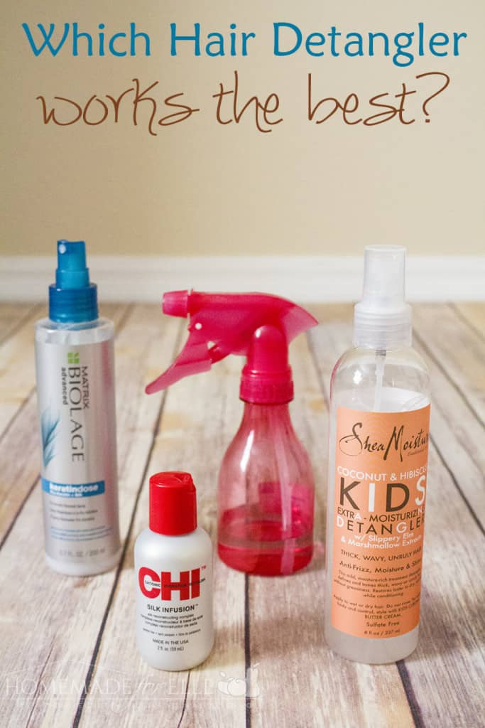 which hair detangler works the best