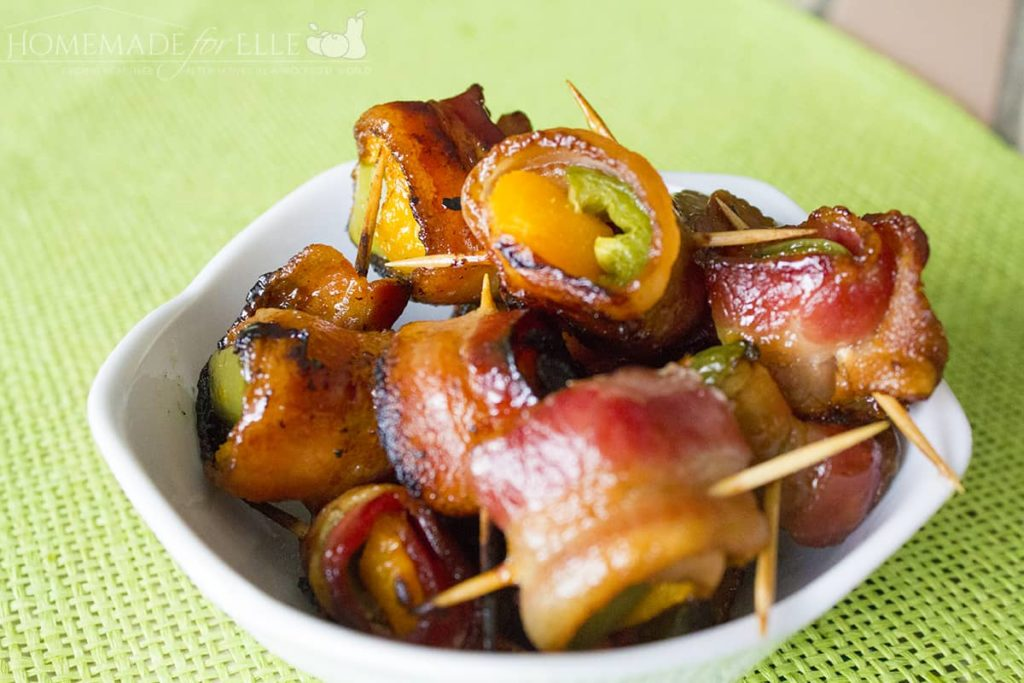 Bacon Wrapped Apricots & Jalapenos