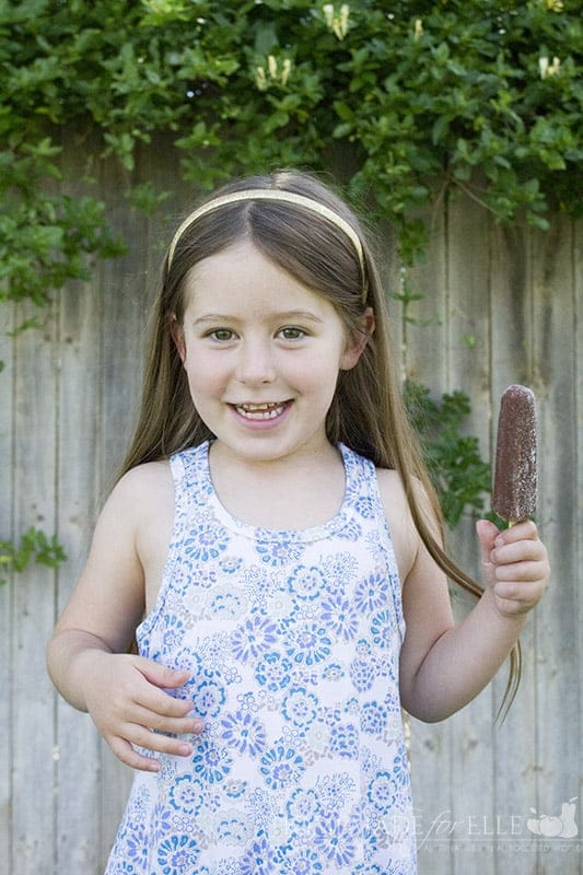 elle and choco pops