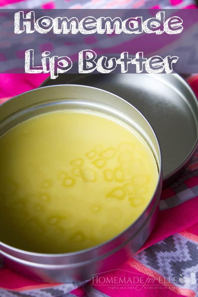 homemade lip butter