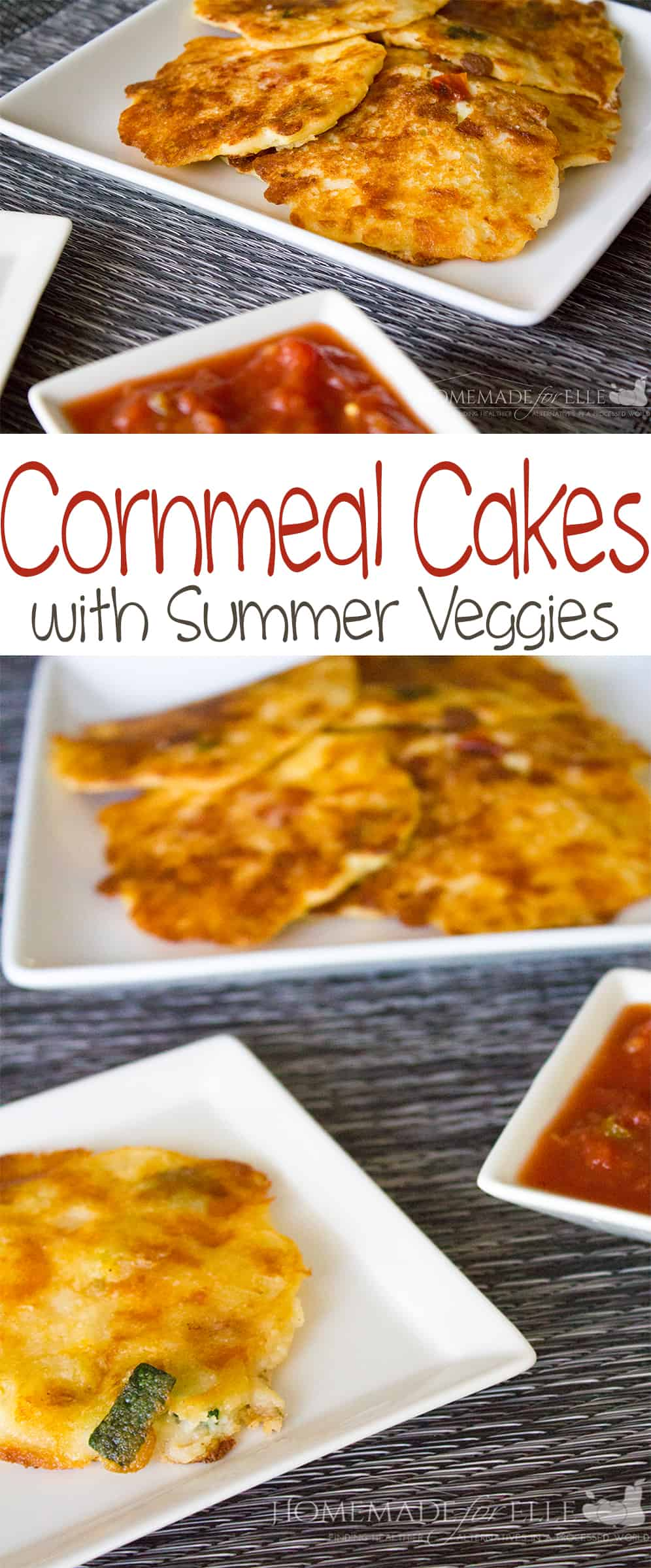 Cornmeal Cake with Summer Veggies