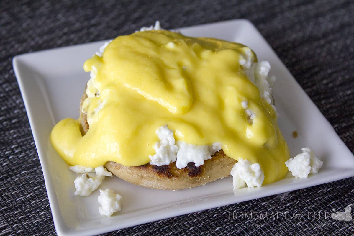 Eggs Benedict with fresh hollandaise