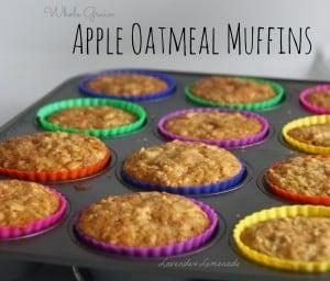 apple oatmeal blog title