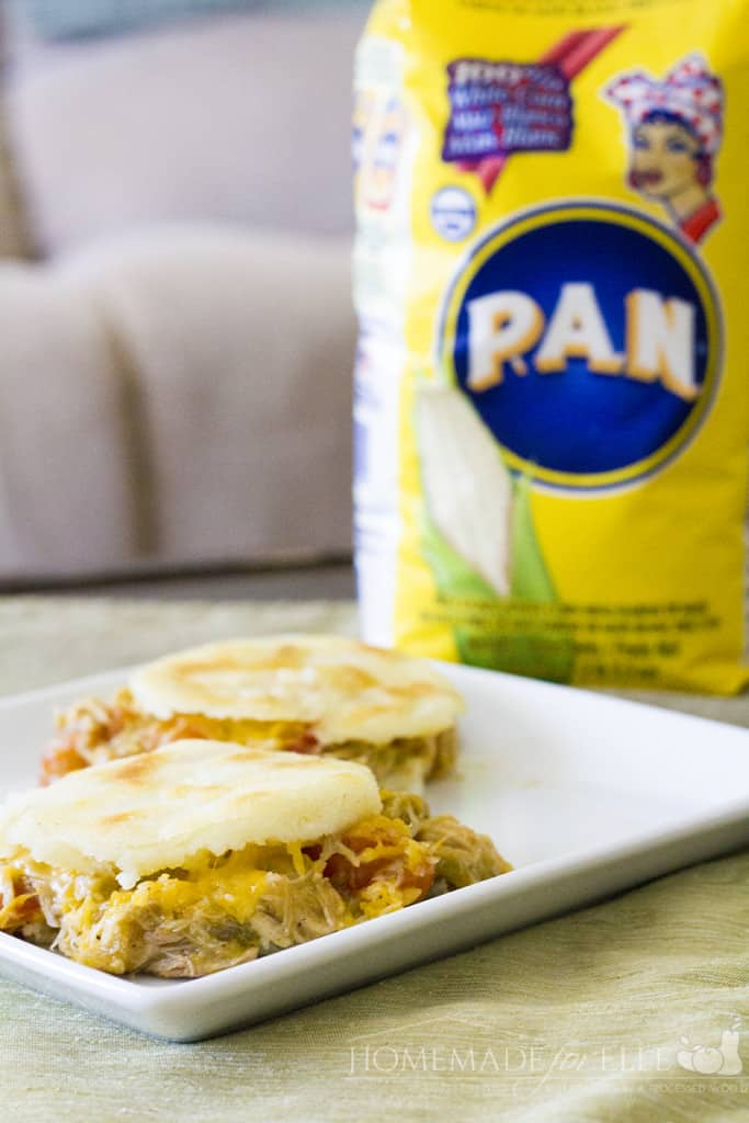 Arepas with PAN