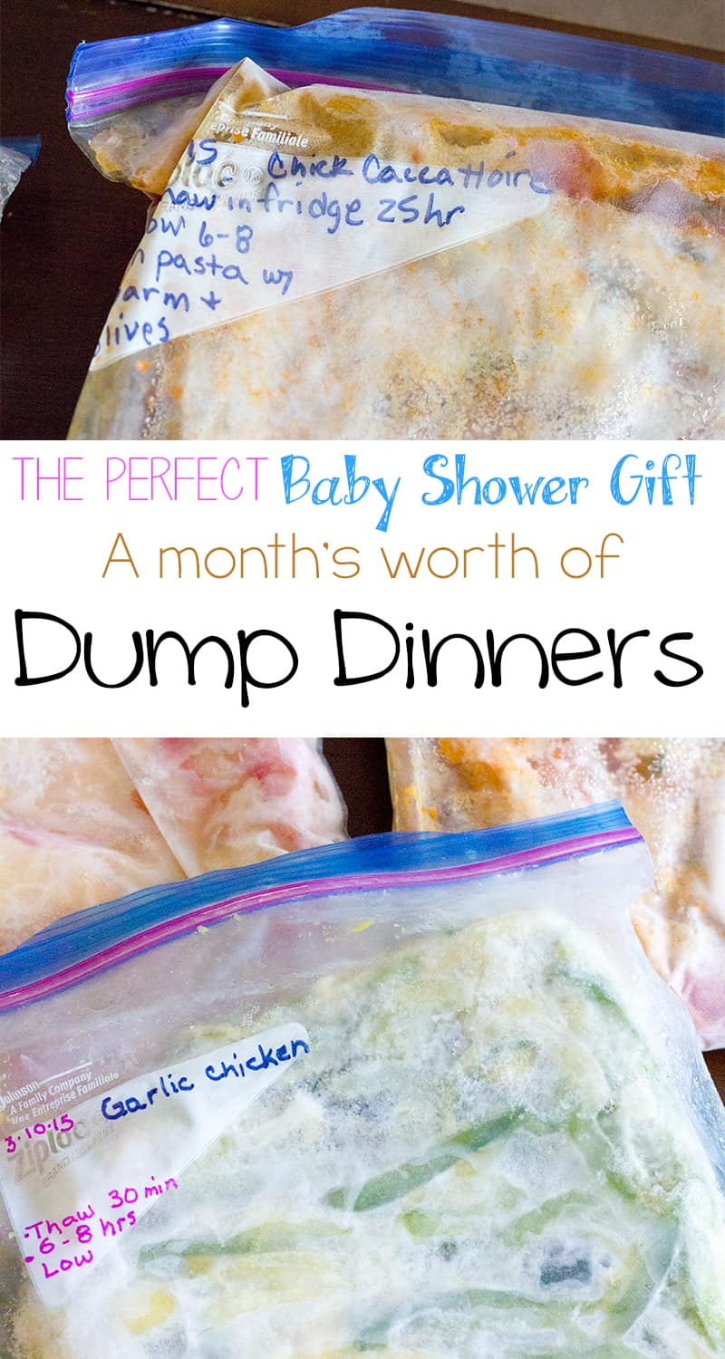 Dump Dinners – the Perfect Gift for the Expectant Mom