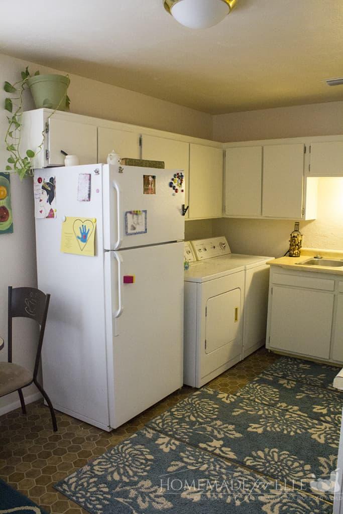 after fridge