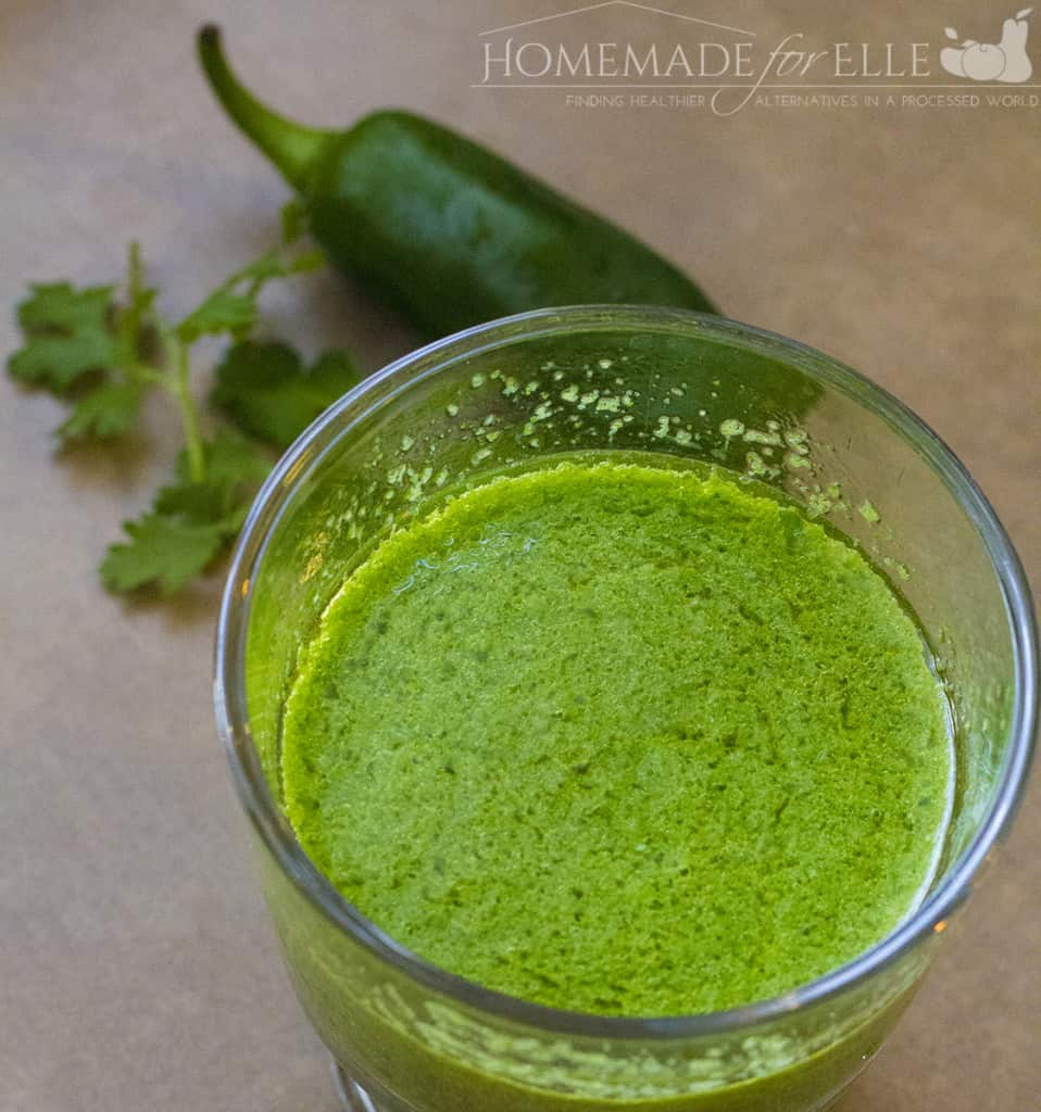 Clean Eating Sauces - Spicy Chimichurri Sauce