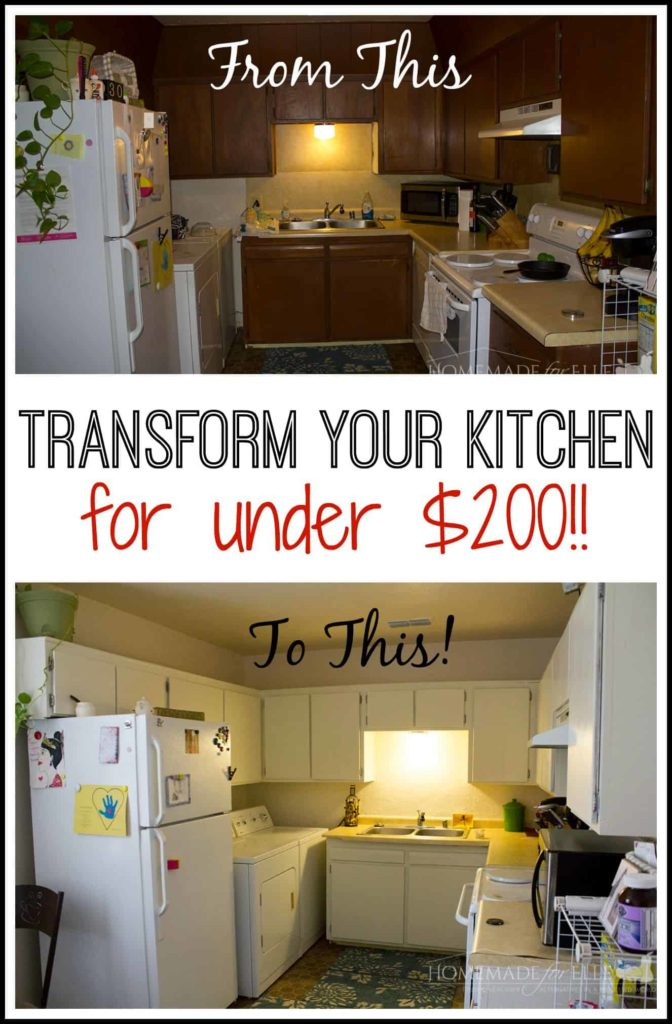kitchen transformatio